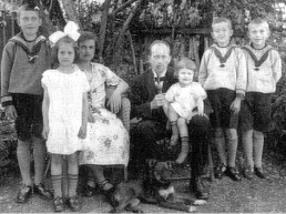 Pastor Stellbrink and familiy